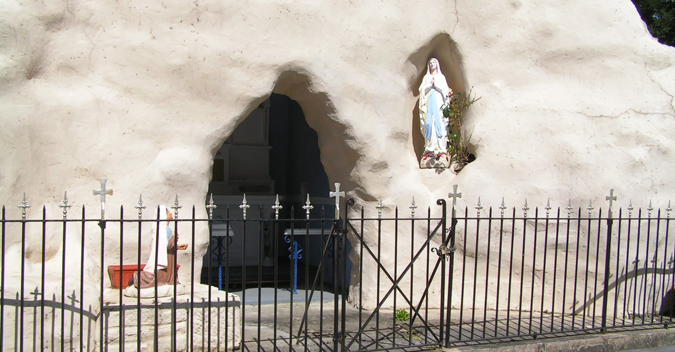 grotto at the annunciation